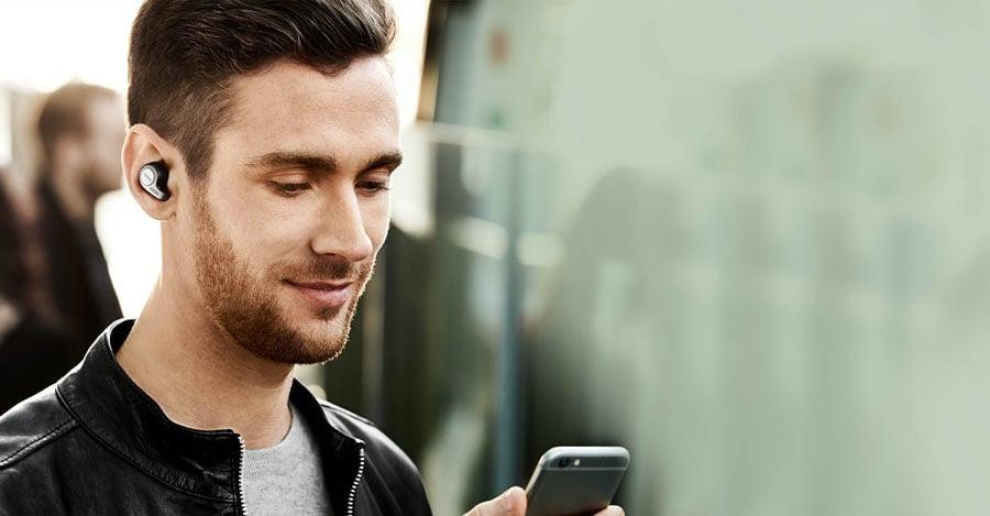 ซื้อ หูฟัง Jabra True Wireless Elite 65t หูฟังบลูทูธ, หูฟังไร้สาย, หูฟัง Bluetooth, หูฟัง Wireless, Bluetooth Headset, หูฟังเสียงดี, ราคาพิเศษ พร้อมโปรโมชั่นลดราคา ส่งฟรี ส่งเร็ว ทั่วไทย
