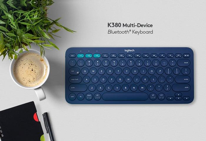 Logitech Bluetooth Multi-Device Keyboard K380 - Black