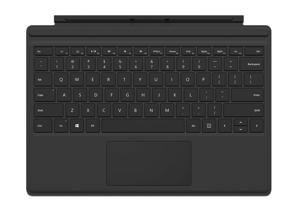 Microsoft Tablet Acc Signa Type Cover M1725 Black (FMM-00016)