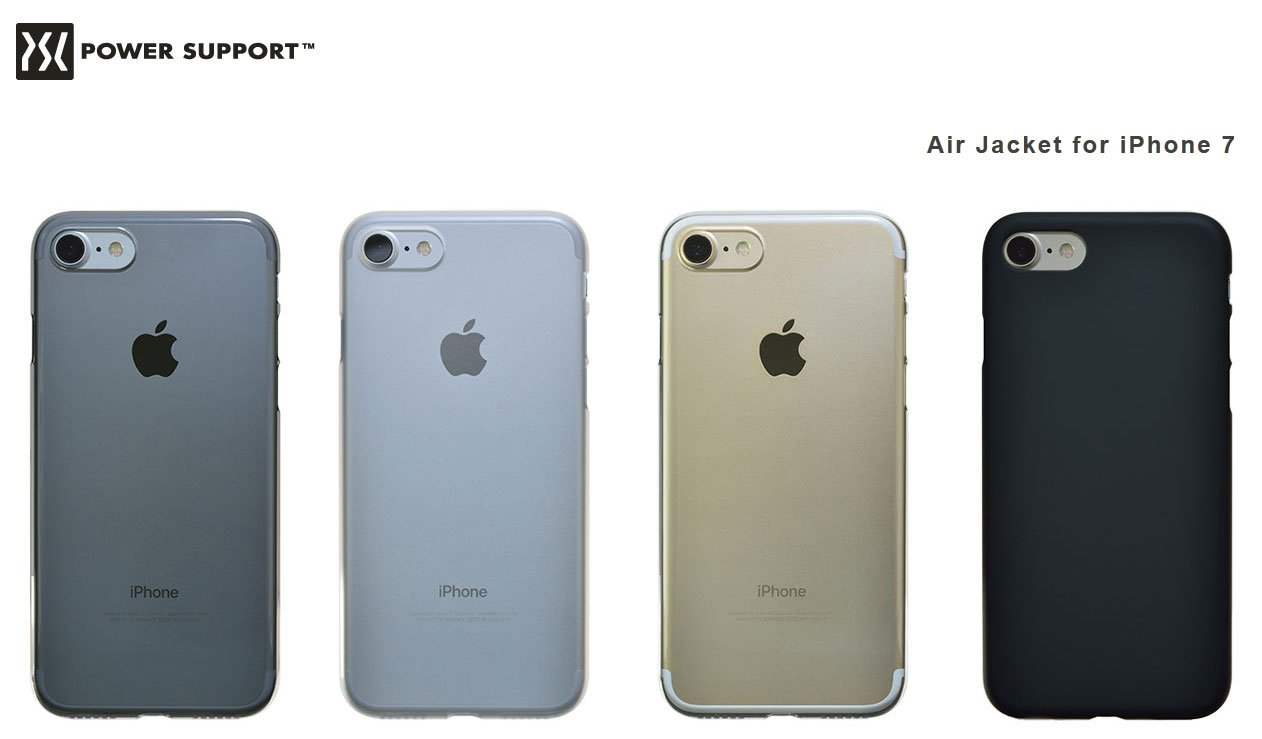 new styles d182b c0aa2 Power Support Casing for iPhone 8 / 7 Air Jacket Clear