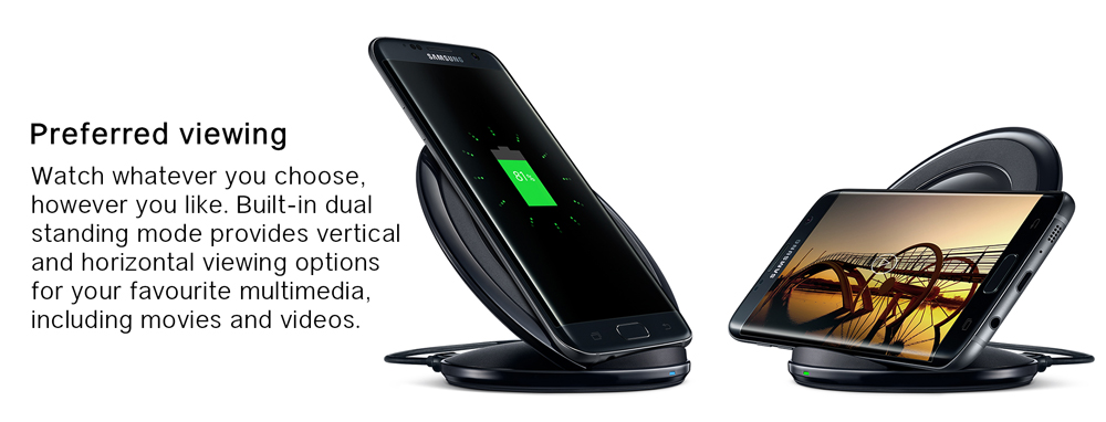 Samsung Accessory Cony Fast Wireless Charger Stand (Line Collaboration)
