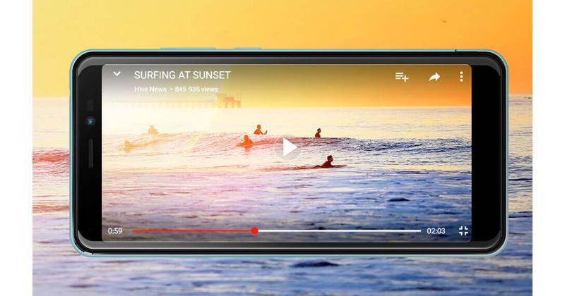 Wiko Smartphone Sunny 3 Plus Silver Blue